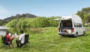 hitop camper 3 berth campervan u0026 motorhome hire britz nz