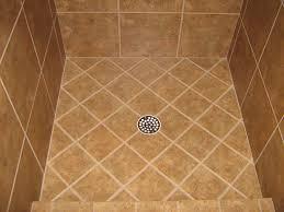 pebble tile shower floor stunning garage floor tiles with tile for