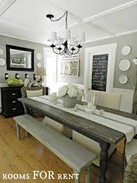 Wall Pictures For Dining Room by Dining Room Farmhouse Chandelier With Wing Back Dining Chairs And