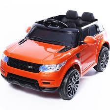 jeep orange mini hse range rover style 12v child u0027s ride on jeep orange