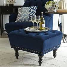navy blue chair and ottoman by the looks of it our chas armchair is something of an aristocrat