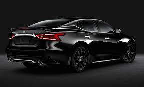nissan maxima leather seats nissan maxima sr midnight debuts with trendy blacked out
