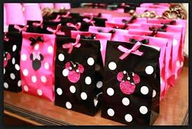 Minnie Mouse Birthday Party Ideas Red Decorations Favors