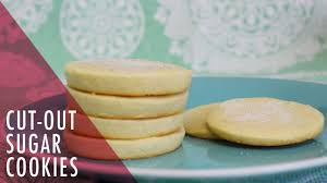 how to make cut out sugar cookies tasty delights youtube
