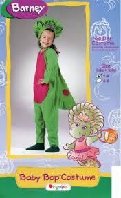 Baby Bop Halloween Costume Barney Baby Bop Dinosaur Halloween Costume 2t Plush Doll