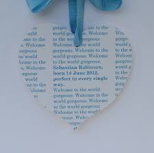 personalised message new baby card by seahorse