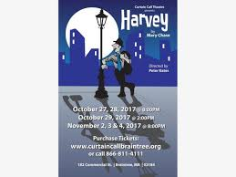 Curtain Call Theatre Nov 2 Harvey At Curtain Call Theatre Braintree Ma Patch