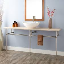 art deco undermount console sink console sinks bathroom sinks art