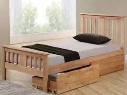 25 small double storage bed storage double bed frame pine local
