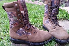 cabelas hunting boots leather camo gore tex thinsulate ultra