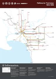 San Francisco Tram Map by Submission U2013 Historical Map Melbourne Tramways Of Transit Maps
