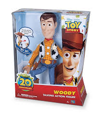 woody toy story 20th anniversary thinkway toys pixar wiki