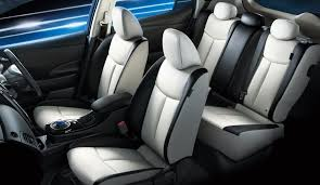 nissan leaf interior japanese leafs have better performance