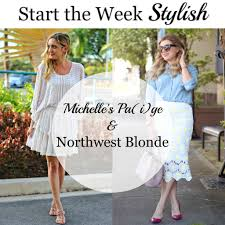 Rachel Parcell Blog by Daisy Print Skirt Northwest Blonde