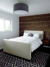 Headboard Wall Decor by Bedrooms With Wallpaper Accent Wall Bedroom Contemporary With