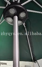 Patio Umbrella Led Lights by Sling Outdoor Solar Led Patio Umbrella Tilt Tray 2 Usb Charge