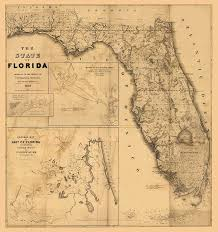 antique map world florida map vintage antique map of florida digital by