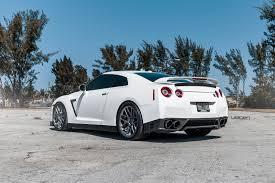 white nissan white nissan gt r velgen wheels vmb7 matte gunmetal 20x9