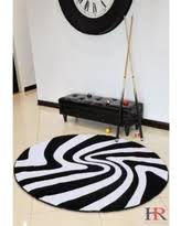 Quality Rugs Bargains On Handcraft Rugs Round Rug Black Grey White Beautiful