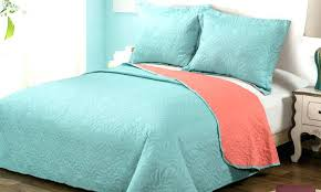 Solid Colored Comforters Francis Solid Color Medallion Pattern 3 Piece Quilt Set Solid