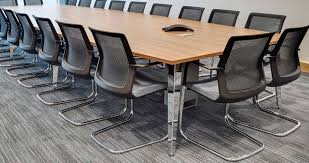 Office Furniture Meeting Table Meeting Tables Create Adhoc Meeting Workspaces In The Office