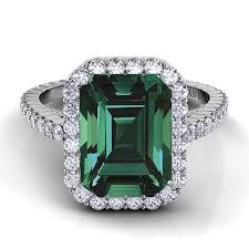 emerald stones rings images Buy online emerald engagement rings pretty jewelry exquisite jpg
