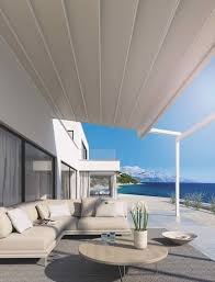 Foldable Awning Weinor Pergotex 2 Fabric Roof Awnings Roché Awnings