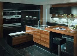 cuisine contemporaine en bois cuisine sur mesure mobilier de cuisine en bois casablanca