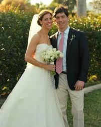 a casual green wedding at a yacht club in florida martha stewart