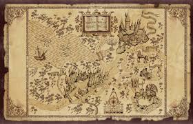 harry potter adventure map map of the wizarding of harry potter desktop wallpaper