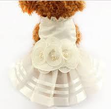 dog wedding dress qoo10 cat wedding dresses dog dress pet skirts in the summer