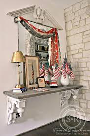 serendipity refined blog farmhouse 4th of july foyer decorating