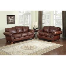 Leather Sofa Italian Brandon Distressed Whiskey Italian Leather Sofa And Loveseat