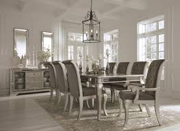 silver dining room birlanny silver rectangular extendable dining room set from ashley