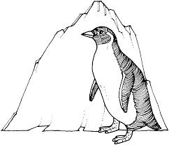free printable penguin coloring pages kids