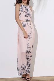 maxi wedding dress maxi dresses pink m floral flowy semi maxi formal wedding