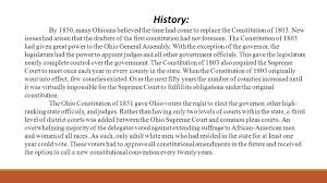 Ohio General Power Of Attorney by Ohio Constitution Government Mr Renner History By 1850 Many