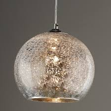 Glass Ceiling Lights Crackle Glass Pendant Lights Tequestadrum Com