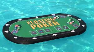 floating table for pool swimming pool poker floating poker table tub poker youtube