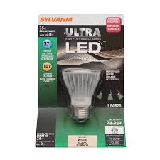 Par20 Led Light Bulbs by Shop Sylvania 8 Watt 35w Equivalent Par20 Medium Base Warm White
