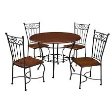 Cafe Style Table And Chairs Amazon Com Dorel Living 5 Piece Wood And Metal Cafe Style Dinette
