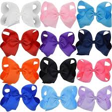 lclhb trendy big hair bows with oversized ribbon
