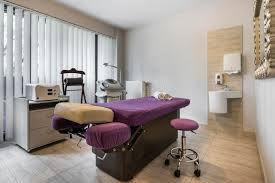 massage room interior in wellness center stock photo image 79328489