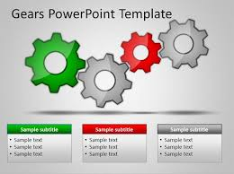 free powerpoint graphics templates download free gears powerpoint
