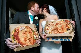 my wedding registry domino s introduces pizza wedding registry franchise times news