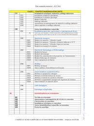 matériel de bureau comptabilité aperçu du fichier plan comptable normalise scf ccir pdf page 15 59