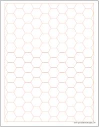 hexagonal graph paper template spreadsheetshoppe