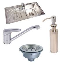 buy futura designer kitchen sink fs 444 with free drainer kit