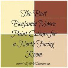 north facing rooms are a joy to decorate because the quality of