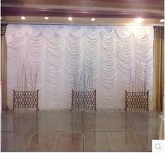 Wedding Backdrops For Sale 2017 Top Sale White 20ft 10ft Water Falls Wedding Backdrops